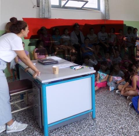 6η πανελλήνια ημέρα σχολικού αθλητισμού – Ομιλία στα Δάφια